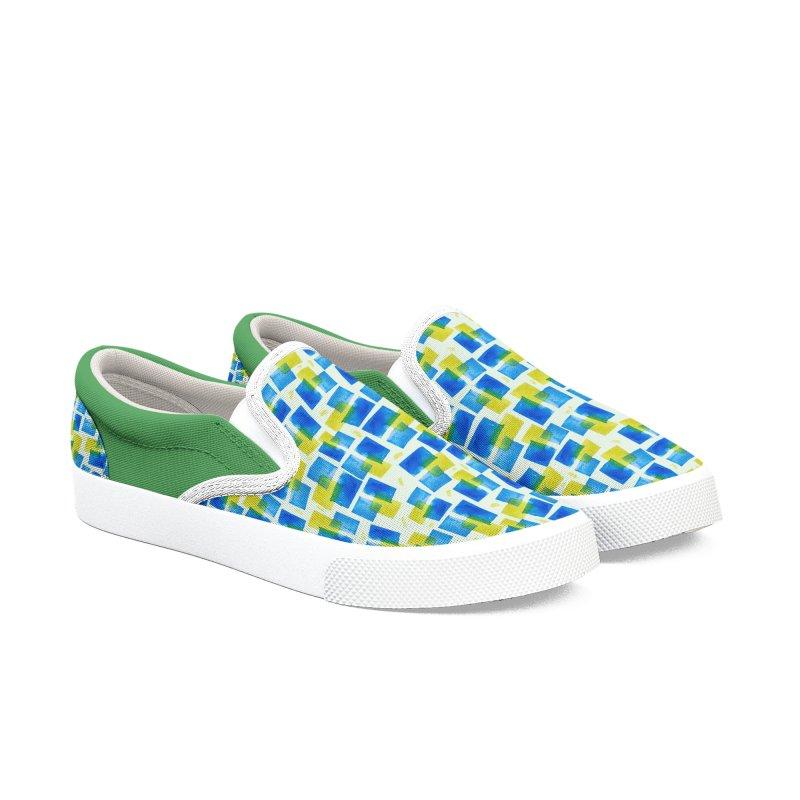 Watercolor Texture Men's Shoes by elisaroselli's Artist Shop