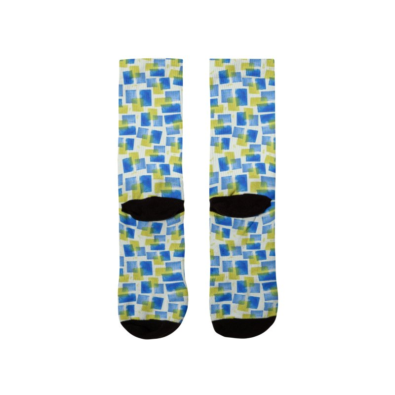 Watercolor Texture Men's Socks by elisaroselli's Artist Shop