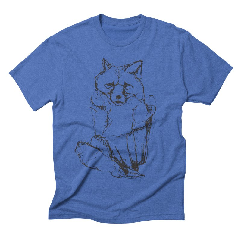 Fox tails Men's Triblend T-shirt by eliseanna's Artist Shop