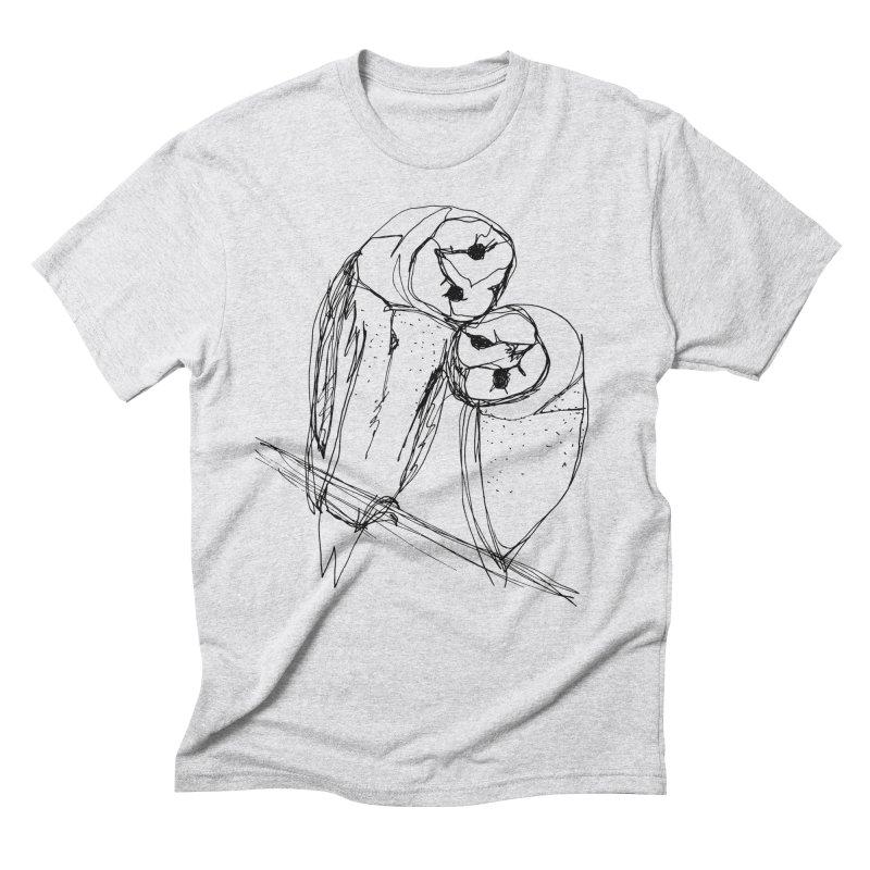 Friends of a feather Men's Triblend T-Shirt by eliseanna's Artist Shop