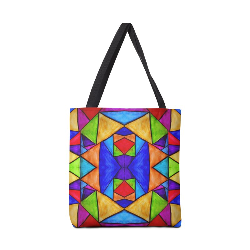 Stained Glass Accessories Bag by Eli Trier Artist's Shop