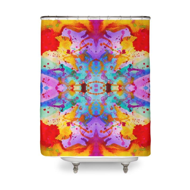 Rorschach Home Shower Curtain by Eli Trier Artist's Shop