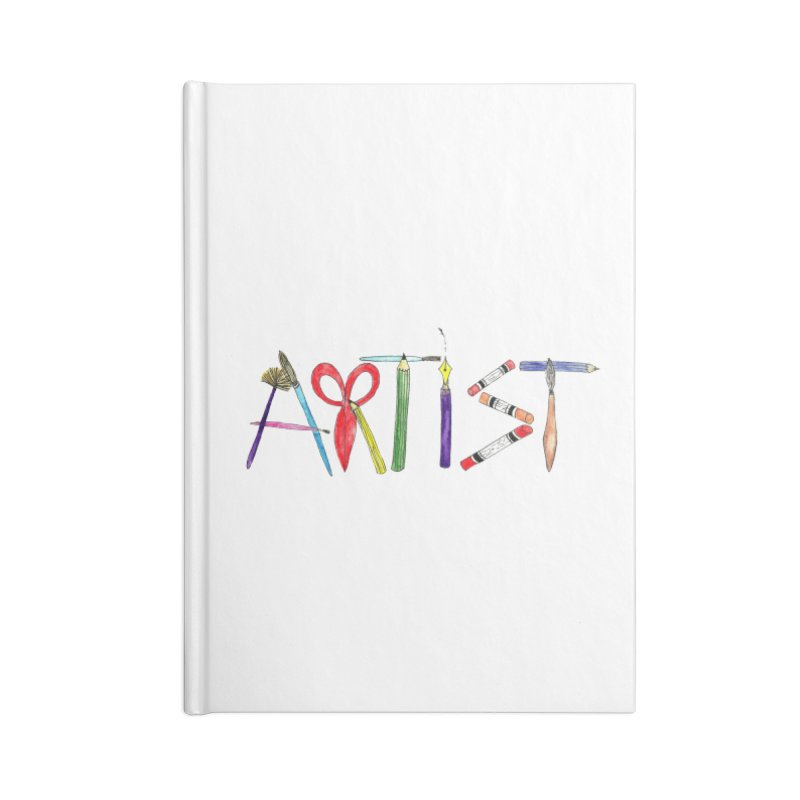 Artist  Accessories Notebook by Eli Trier Artist's Shop
