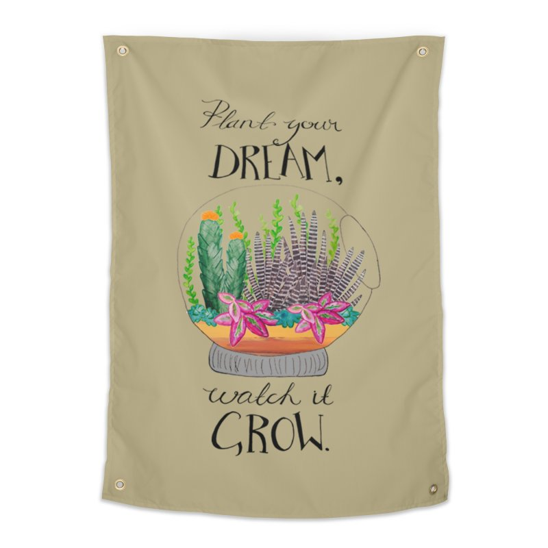 Plant Your Dream Home Tapestry by Eli Trier Artist's Shop