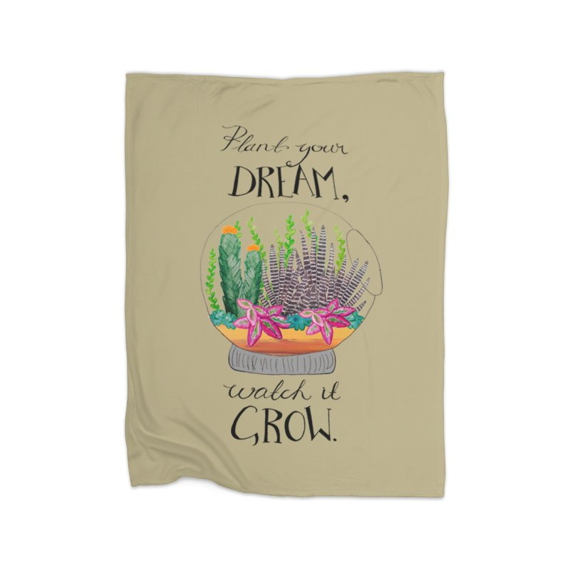 Plant Your Dream Home Blanket by Eli Trier Artist's Shop