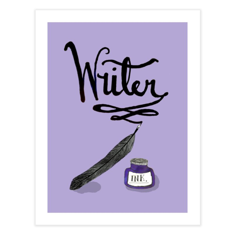 Writer Home Fine Art Print by Eli Trier Artist's Shop
