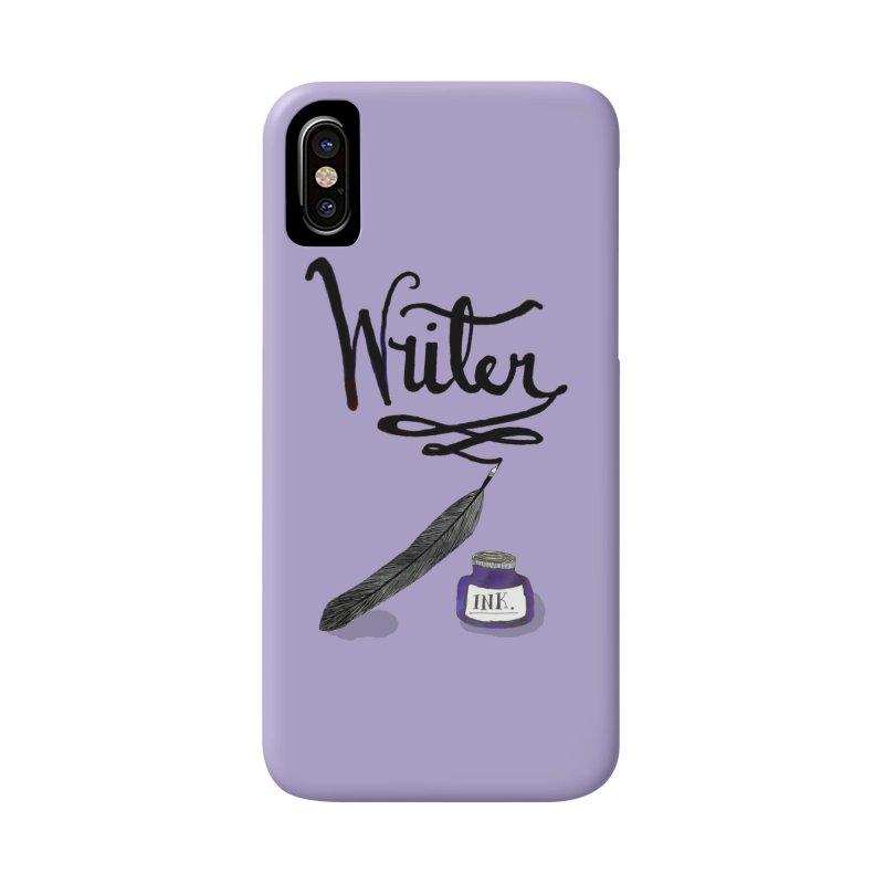 Writer Accessories Phone Case by Eli Trier Artist's Shop