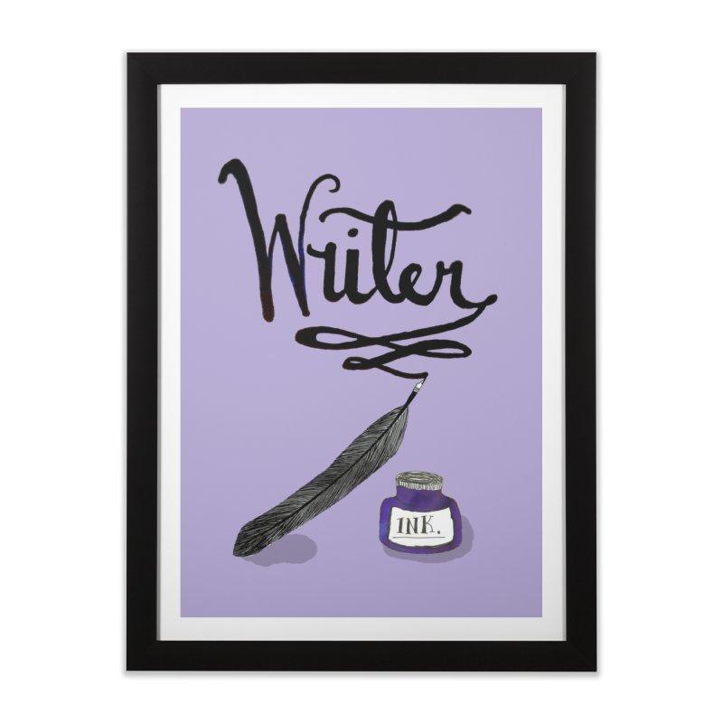 Writer Home Framed Fine Art Print by Eli Trier Artist's Shop