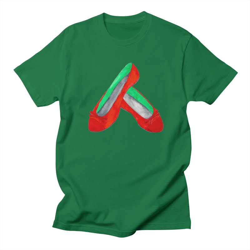 Red Shoes Women's Unisex T-Shirt by Eli Trier Artist's Shop