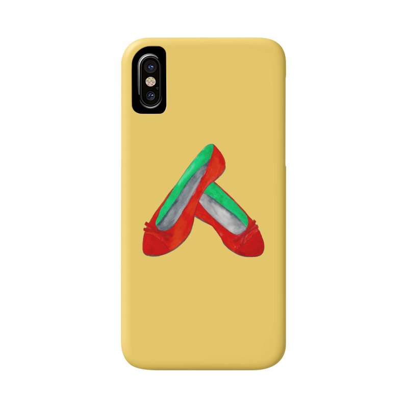 Red Shoes Accessories Phone Case by Eli Trier Artist's Shop