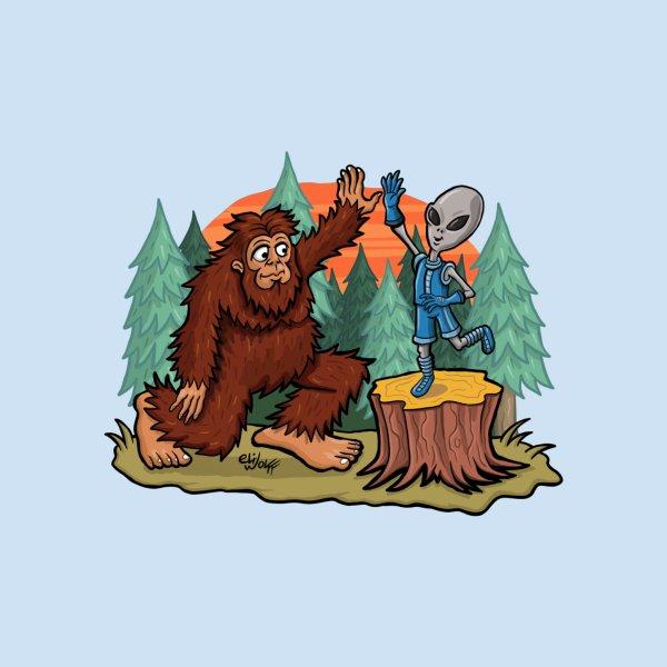 image for bigfoot hi five