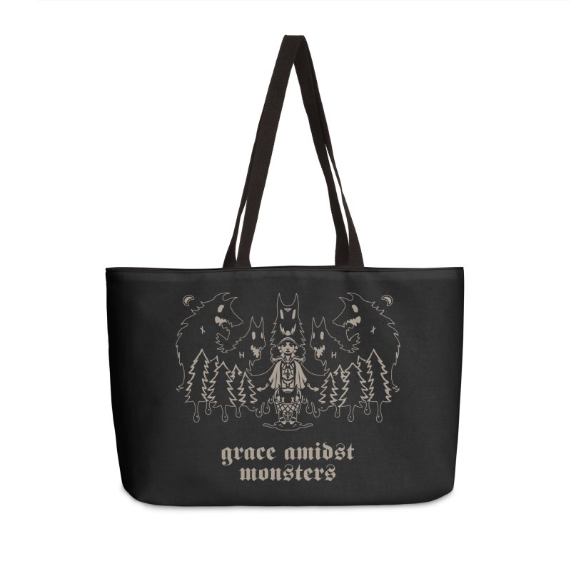 [GRACE AMIDST MONSTERS] Accessories Weekender Bag Bag by e l i z a