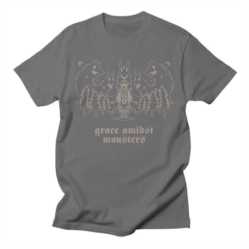 [GRACE AMIDST MONSTERS] Men's T-Shirt by e l i z a