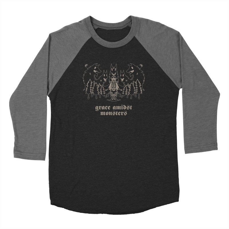 [GRACE AMIDST MONSTERS] Men's Longsleeve T-Shirt by e l i z a