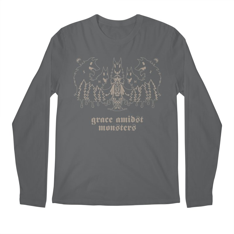 [GRACE AMIDST MONSTERS] Men's Longsleeve T-Shirt by e l i z a