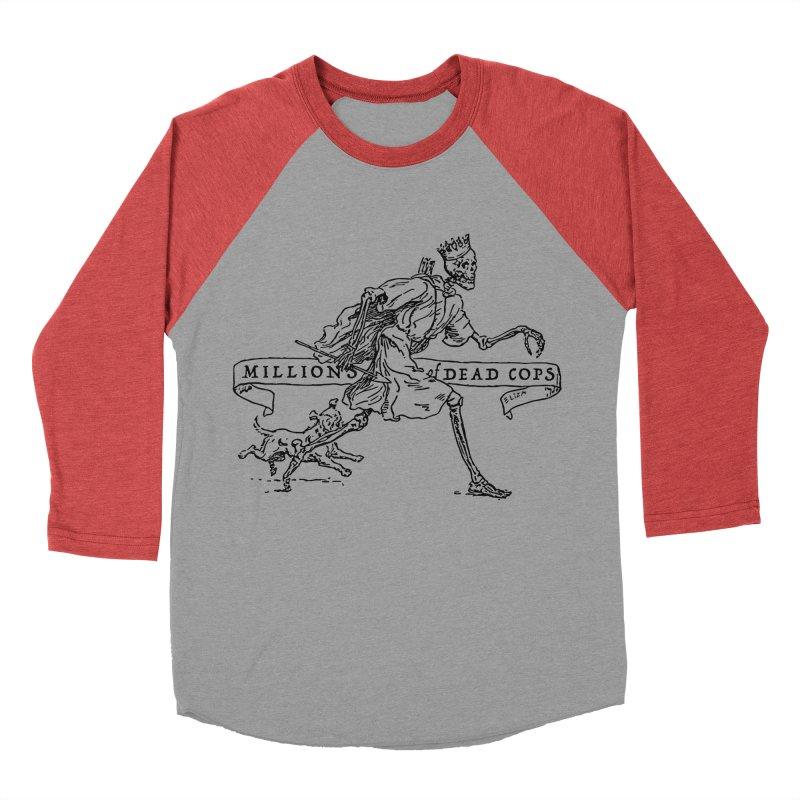 MILLIONS OF DEAD COPS Men's Baseball Triblend T-Shirt by e l i z a
