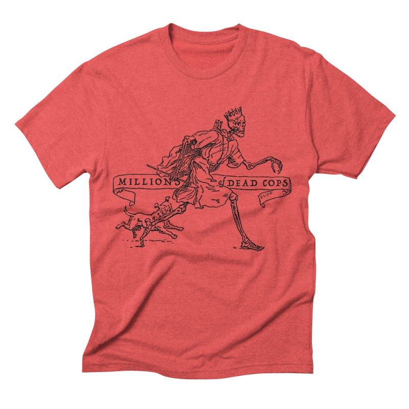 MILLIONS OF DEAD COPS Men's Triblend T-shirt by e l i z a