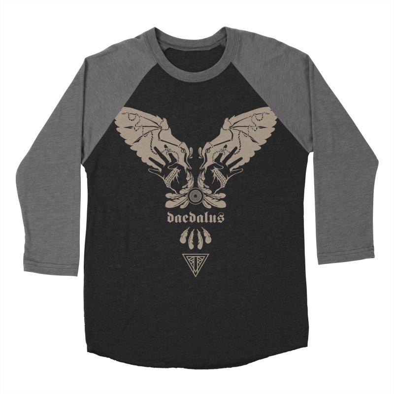 [DAEDALUS] Men's Baseball Triblend T-Shirt by e l i z a