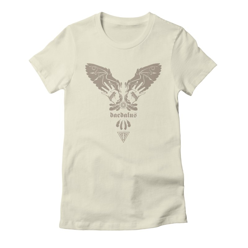 [DAEDALUS] Women's Fitted T-Shirt by e l i z a