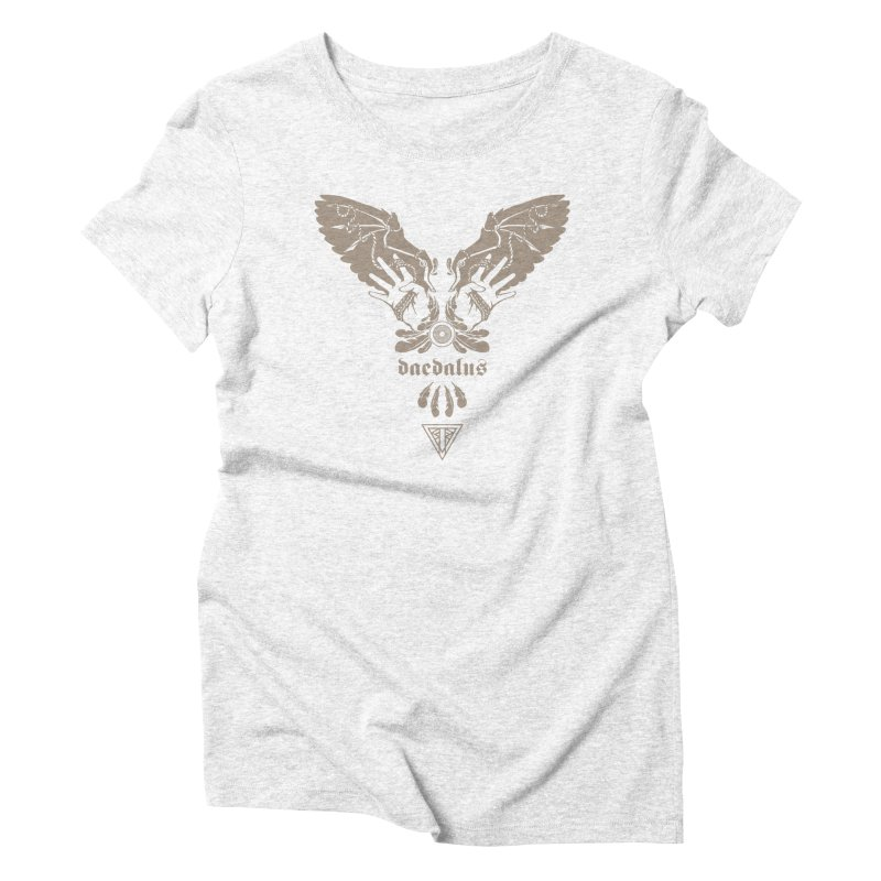 [DAEDALUS] Women's Triblend T-shirt by e l i z a