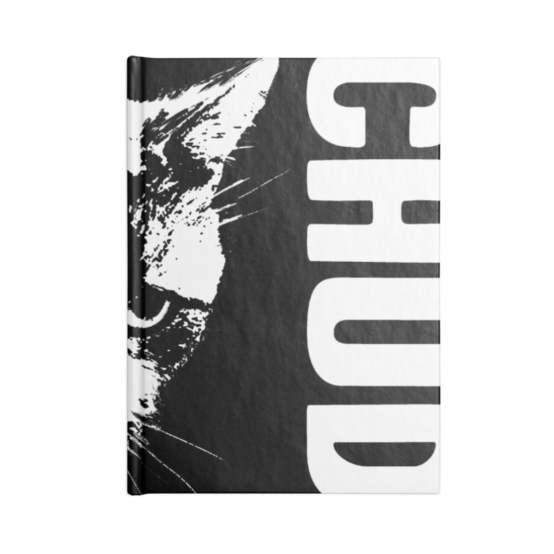 CHUD (black) Accessories Lined Journal Notebook by e l i z a