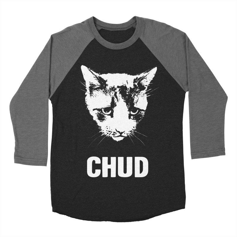 CHUD (black) Men's Baseball Triblend T-Shirt by e l i z a