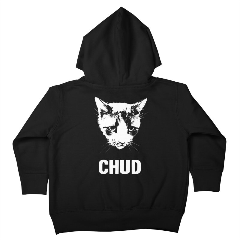 CHUD (black) Kids Toddler Zip-Up Hoody by e l i z a