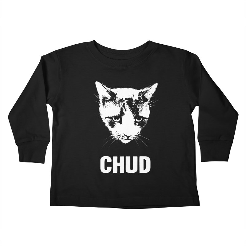 CHUD (black) Kids Toddler Longsleeve T-Shirt by e l i z a