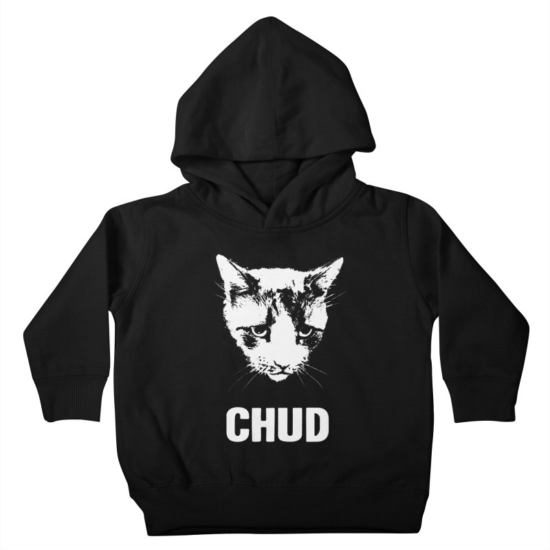 CHUD (black) Kids Toddler Pullover Hoody by e l i z a