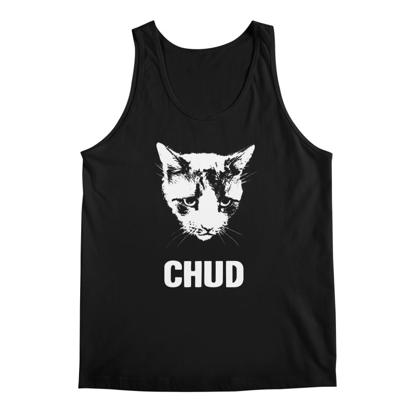 CHUD (black) Men's Tank by e l i z a
