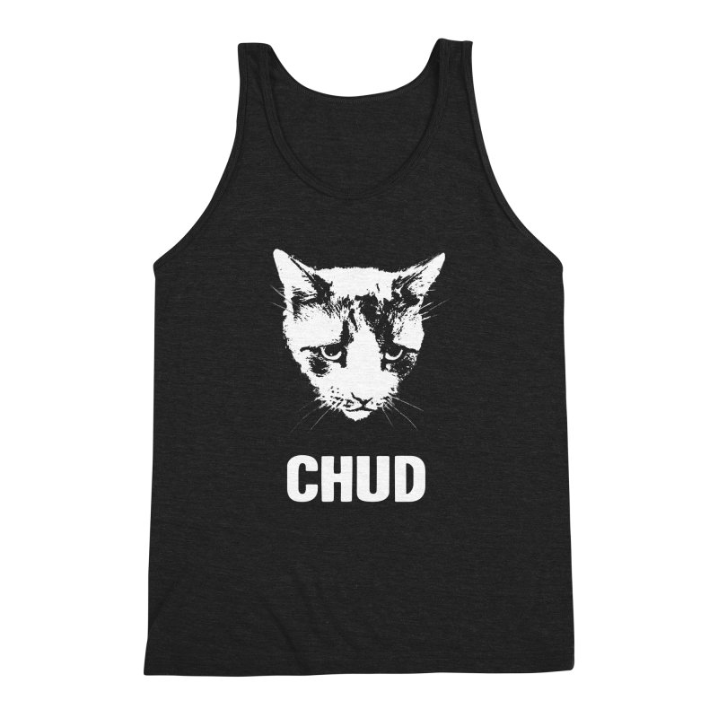 CHUD (black) Men's Triblend Tank by e l i z a