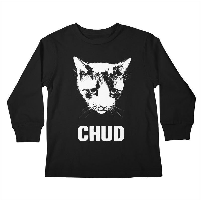 CHUD (black) Kids Longsleeve T-Shirt by e l i z a