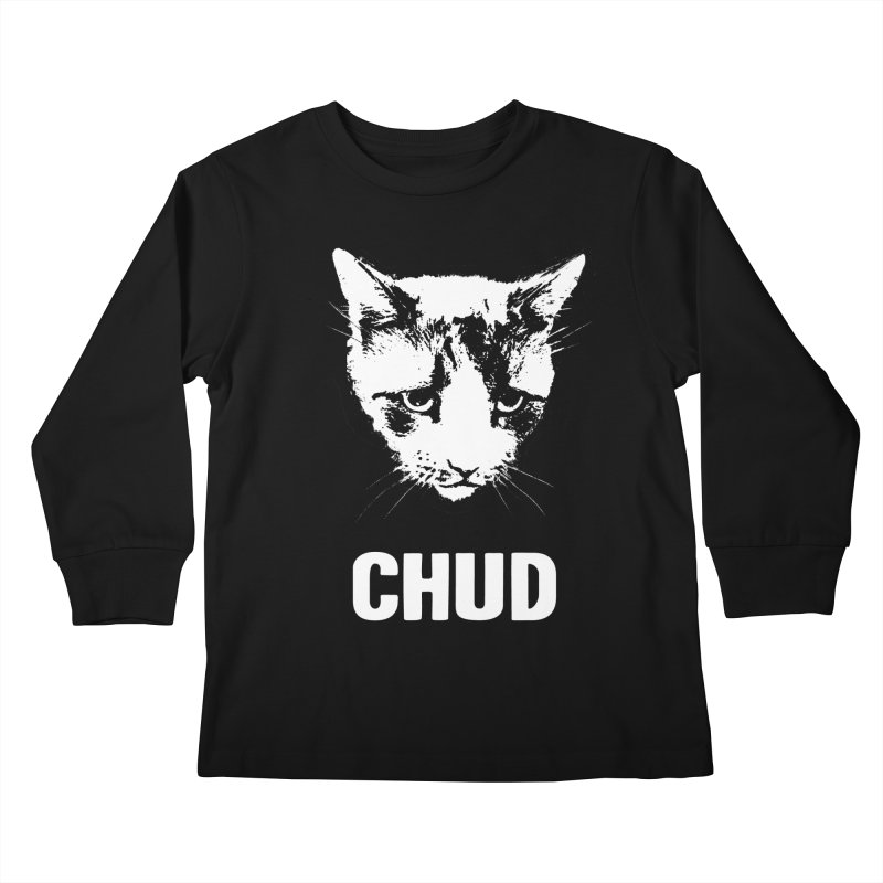 CHUD (black) Kids Longsleeve T-Shirt by e l i z a