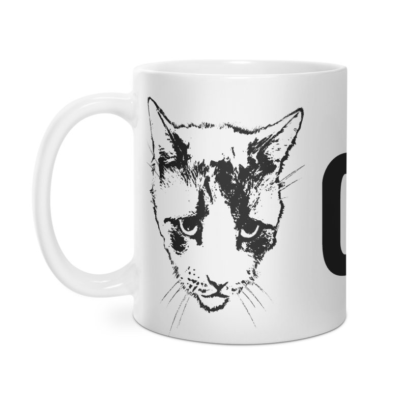 CHUD (white & gray) Accessories Mug by e l i z a
