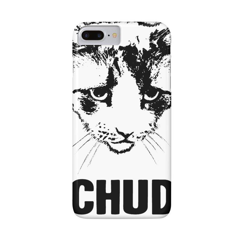 CHUD (white & gray) Accessories Phone Case by e l i z a
