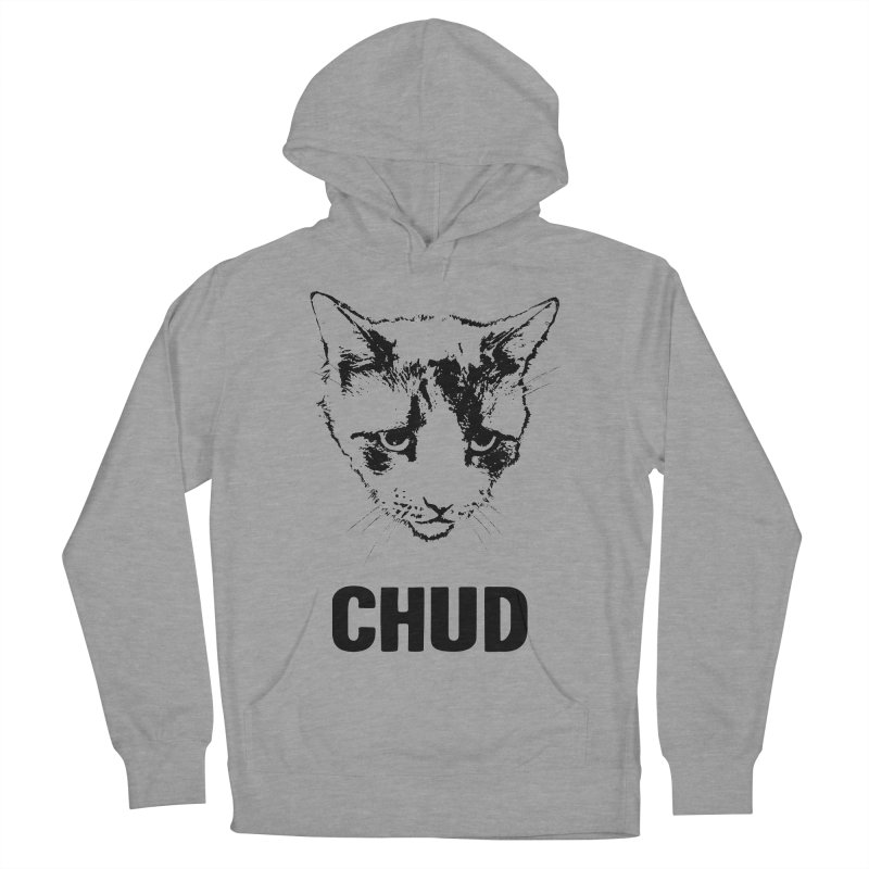 CHUD (white & gray) Women's Pullover Hoody by e l i z a