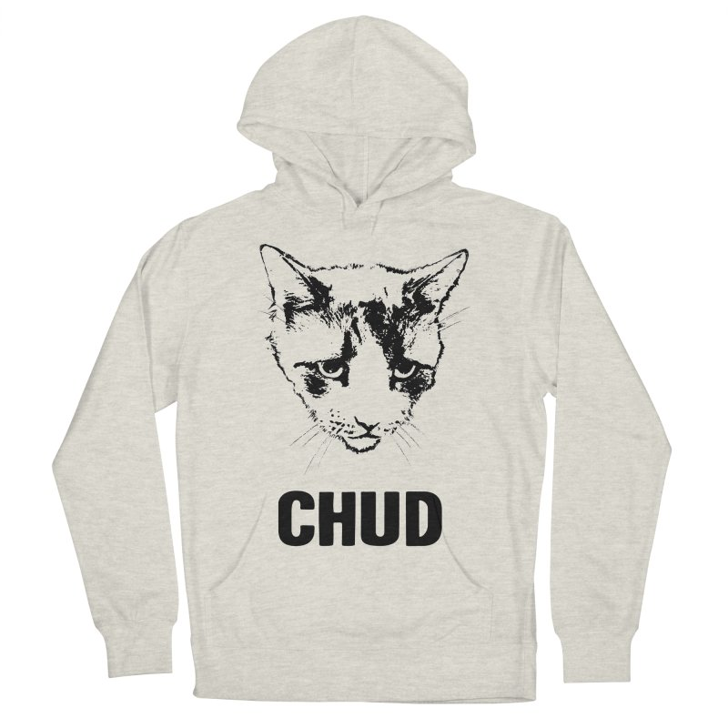 CHUD (white & gray) Men's Pullover Hoody by e l i z a