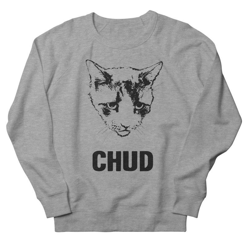 CHUD (white & gray) Men's Sweatshirt by e l i z a