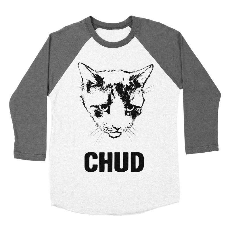 CHUD (white & gray) Women's Baseball Triblend T-Shirt by e l i z a