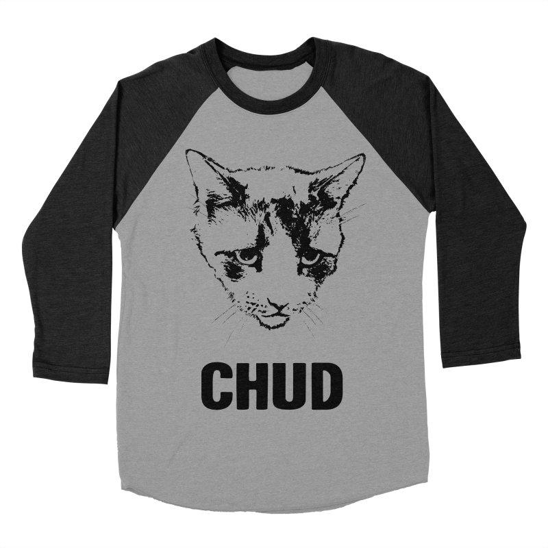 CHUD (white & gray) Men's Baseball Triblend T-Shirt by e l i z a