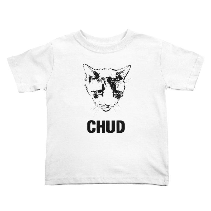CHUD (white & gray) Kids Toddler T-Shirt by e l i z a