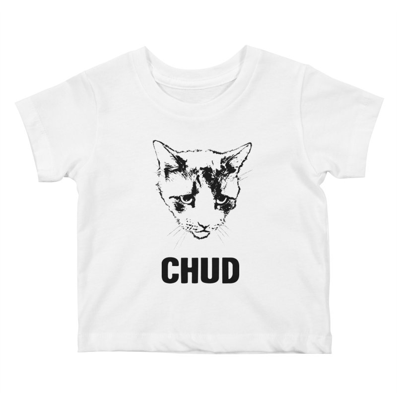CHUD (white & gray) Kids Baby T-Shirt by e l i z a