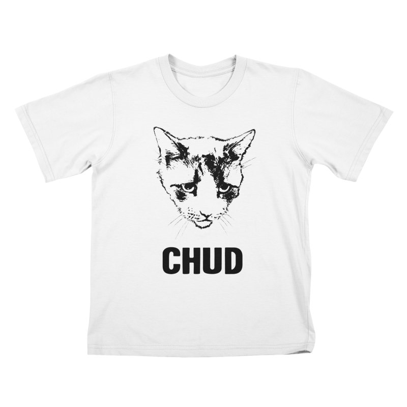 CHUD (white & gray) Kids T-shirt by e l i z a