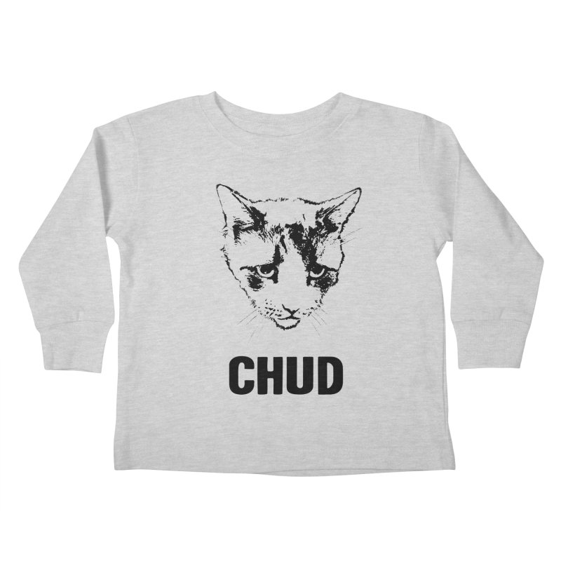 CHUD (white & gray) Kids Toddler Longsleeve T-Shirt by e l i z a