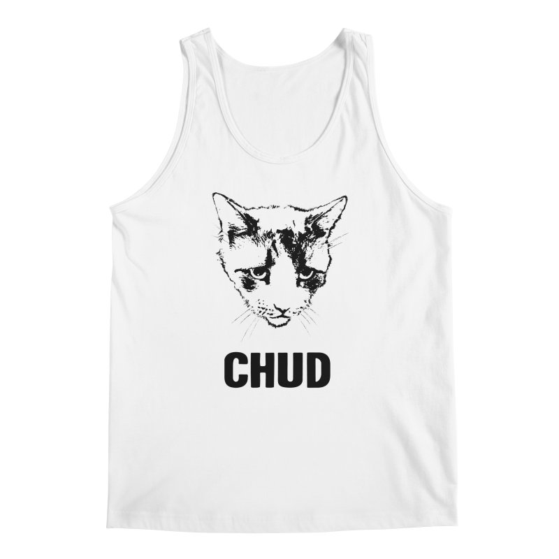 CHUD (white & gray) Men's Tank by e l i z a