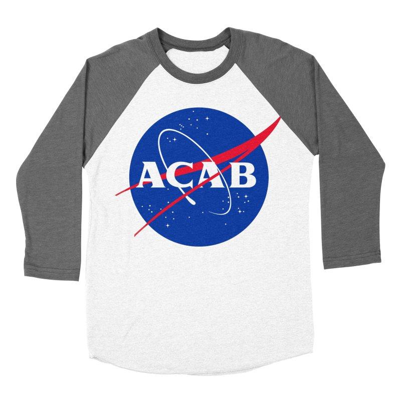 ACAB Meatball Women's Baseball Triblend T-Shirt by e l i z a