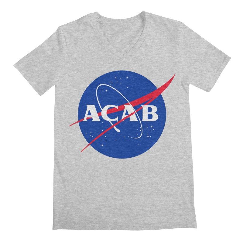 ACAB Meatball Men's V-Neck by e l i z a