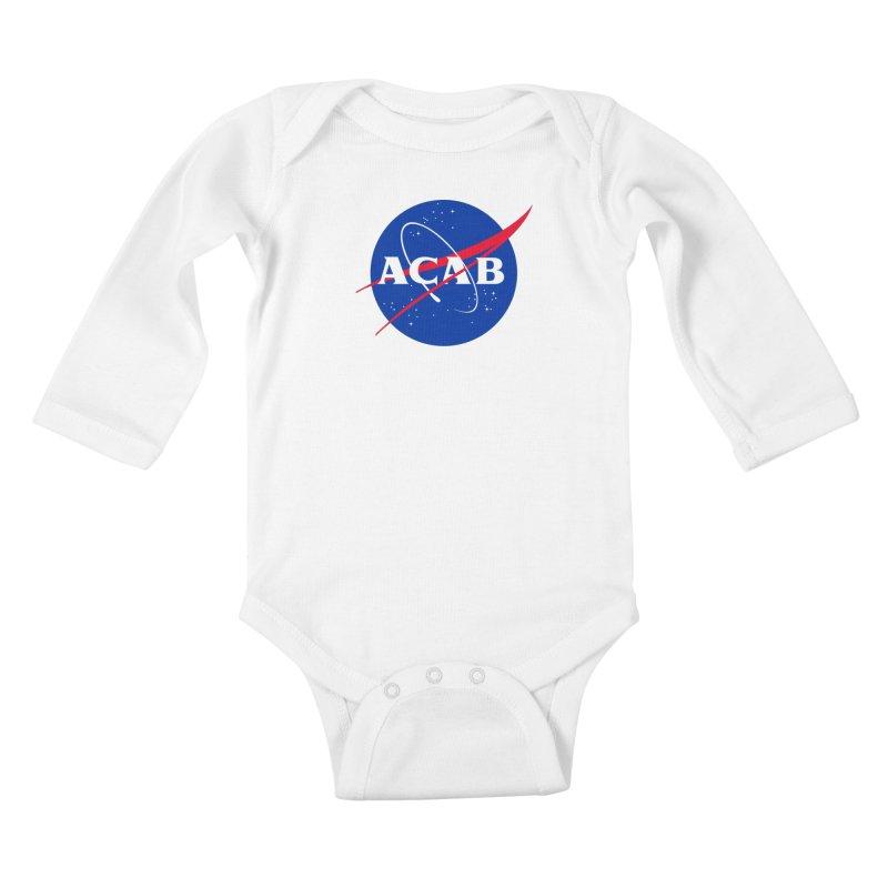 ACAB Meatball Kids Baby Longsleeve Bodysuit by e l i z a