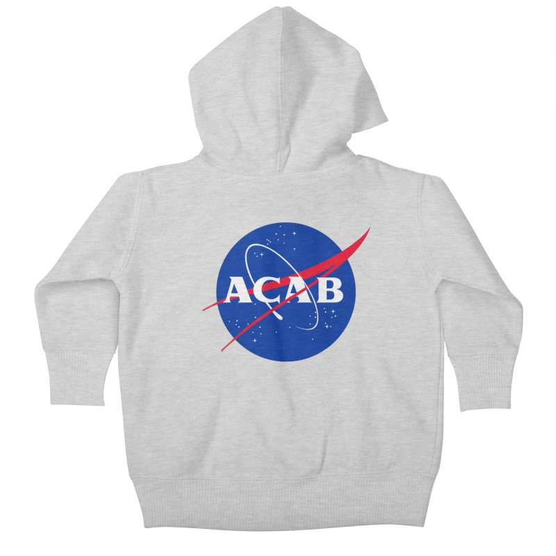 ACAB Meatball Kids Baby Zip-Up Hoody by e l i z a