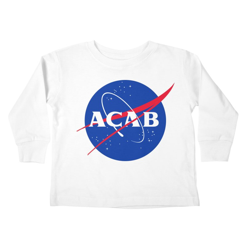 ACAB Meatball Kids Toddler Longsleeve T-Shirt by e l i z a